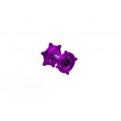 Moyeux Arrière - Kawasaki - Purple