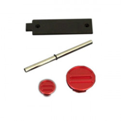 Kit Screws Engine CRF - Anodized Red