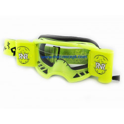 Lunette Colossus - Roll Off - XXL (WVS) - Jaune Fluo