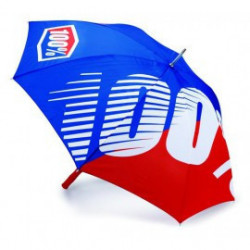 Umbrella premium blue/red 100%