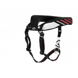 ADULT NECK BRACE 2.0 - BLACK/RED