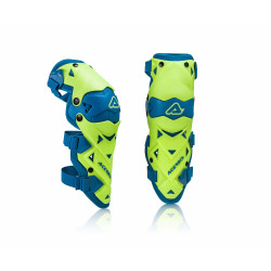 KNEE GUARDS EVO LIMITED - BLUE/YELLOW