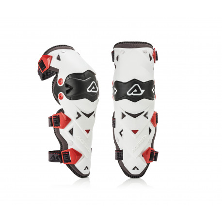 KNEE GUARDS IMPACT EVO 3.0 - WHITE/BLACK - ONE SIZE
