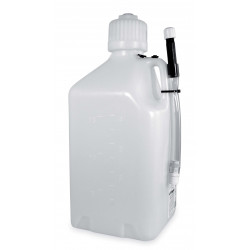 18 LT. GAS CONTAINER - WHITE