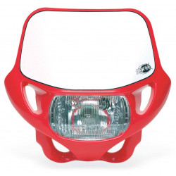HEADLIGHT DHH CERTIFIED - RED