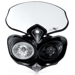 HEADLIGHT CYCLOPE - BLACK