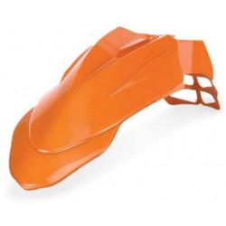 Garde Boue Avant Supermotard - Orange