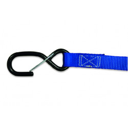 TIE DOWNS 25mm (2pcs.) - BLUE