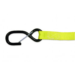 TIE DOWNS 25mm (2pcs.) - YELLOW