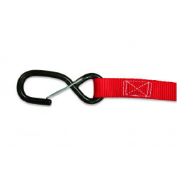 TIE DOWNS 25mm (2pcs.) - RED