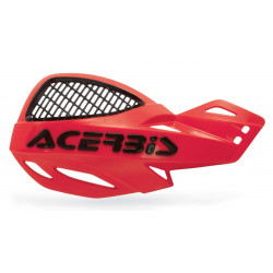 VENTED UNIKO HANDGUARDS - RED/BLACK