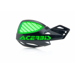 VENTED UNIKO HANDGUARDS - BLACK/GREEN