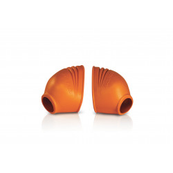 FOOT PEG COVER - ORANGE