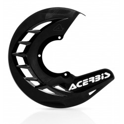 X-BRAKE FRONT DISC COVER - BLACK