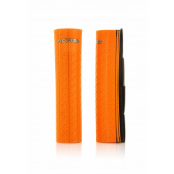 RUBBER UP FORKS COVERS USD 47-48 MM - ORANGE