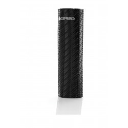RUBBER UP FORKS COVERS USD 47-48 MM - CARBON LOOK – BLACK