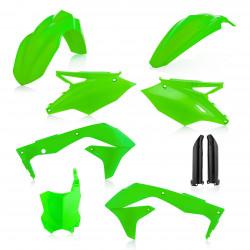 Full Kit Plastique Kawasaki KXF450 16-18 - Vert Fluo