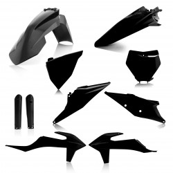 FULL PLASTIC KIT KTM SX/SFX 19-20 - BLACK