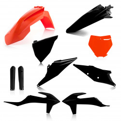 FULL PLASTIC KIT KTM SX/SFX 19-20 - TLD BLACK