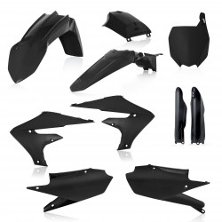 FULL PLASTIC KIT YAMAHA YZF 250 19-20 + YZF 450 18-20 7 PIECES - BLACK