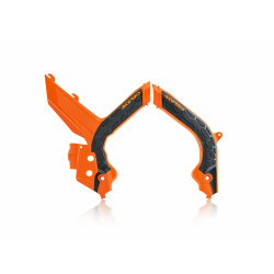 X-GRIP FRAME PROTECTOR KTM EXC/EXCF 2020 - ORANGE/BLACK