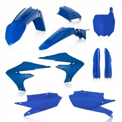 FULL PLASTIC KIT YAMAHA YZF 250 19-20 + YZF 450 18-20 7 PIECES - Blue