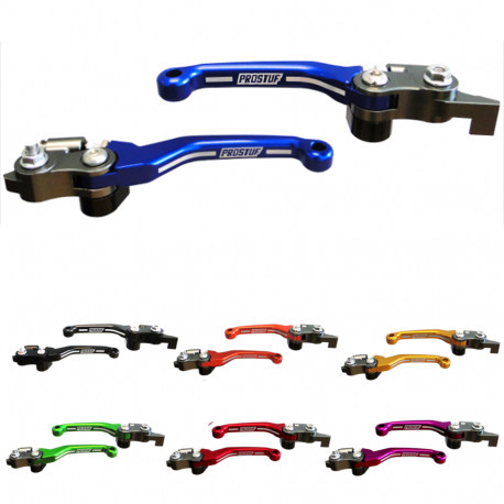 Set Flex Levers - Husqvarna - Blue