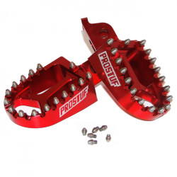 Foot Pegs - KTM + HVA 16-21 + Gas Gas 2021 - Red