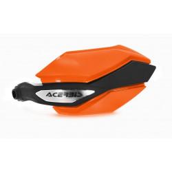 Protèges mains ARGON - Orange/Noir