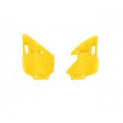 Protection té de fourche inférieur F-ROCK - Jaune