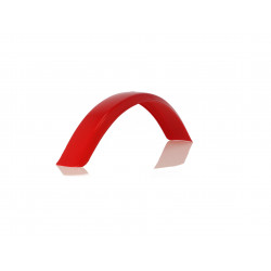 UNIVERSAL TRIAL FRONT FENDER - RED